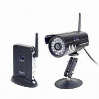 Digital Wireless CCTV Camera for Quad-view, with AV Output, Easily Connects to TV/DVR Manufactures