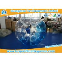 Customized Heat Sealed PVC Inflatable Bubble Ball With Logo Printing Manufactures