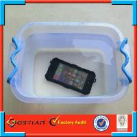 Underwater New Waterproof Phone Case for iPhone 5 Black , IP65 Manufactures