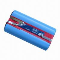 7.4V/2,000mAh Li-ion Battery Pack, Ideal as Two-way Radio Battery and Cordless Phone Battery Manufactures