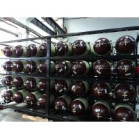 China Type 2 Fiber Glass CNG Cascade , Compressed Natural Gas Storage Tanks 200LX 24PCS on sale