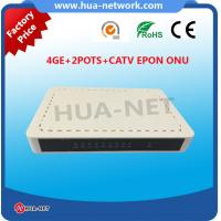 Quality HZW-E804-FT ONU 4GE 2POTS CATV EPON ONU wholesale from Chinese factory for sale