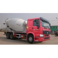 Concrete Mixer Pump Truck , Mixer Concrete Truck With L2000 Cabin 6 By 4 Drive Manufactures