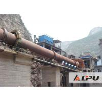Building Materials Equipment Rotary Kiln for Cement / Lime Calcination Manufactures