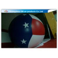Purple Inflatable Advertising Balloon Hydrogen Sphere Inflatable Helium Ball Manufactures