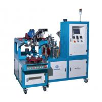 End Cap Gluing Car Air Filter Making Machine 1800 × 1400 × 1700mm Size 1 Year Warranty Manufactures