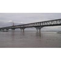 China High Strength Simple Steel Truss Structure Bridge with Concrete Deck on sale