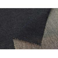 China Cotton Spandex Polyester Knitted Stretch Denim Pants Fabric 270gsm For Cloth on sale