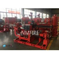 Fire Fighting End Suction Fire Pump , Diesel Engine Fire Pump 500 Gpm@111psi Manufactures