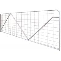 .Square Pipe Galvanized Livestock Metal Horse Fence Manufactures