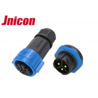 Buy cheap Jnicon 3Pin Cable Connector Waterproof Circular Connectors M25 50A from wholesalers
