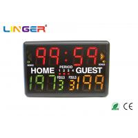 Led Indoor Light Portable Digital Basketball Scoreboard With Multi - Sports Function Manufactures