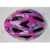EPS Foam Inline Skating Helmets / Adult Cycling Bicycle Helmets for Girls and Boys Manufactures