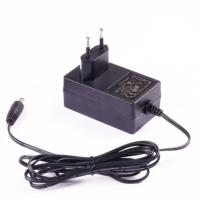 Wall Mount AC DC Switching Power Adapter 24W 12V 2A , For Wireless Gigabit Router Manufactures