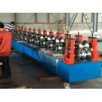 40 KW Highway Guardrail Roll Forming Machine Full Automatic Control Use PLC with Touch Screen Manufactures