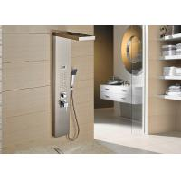 China Bathroom Wash ROVATE Shower Panel System 5 Years Warranty With ABS Hand Shower on sale