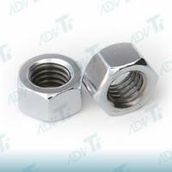 """Nonmagnetic Hex Titanium Nuts Ti TA2 UNF 5/8 """" - 18 Plain Finish Manufactures"""