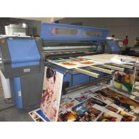 Decration Industry Faltbed Roll to Roll UV Printer , Professional Digital Screen Printing Equipments Manufactures