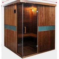Full Spectrum Far Infrared Sauna Cabin , Canadian Cedar Garden Dry Heat Sauna Manufactures