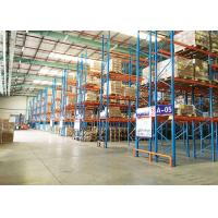 China Large Capacity Warehouse Pallet Storage Racks , Industrial Racking Shelves for sale