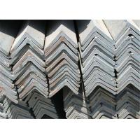 China Industrial Rolled Equal Angle Steel Section / Mild Steel Sections GB Standard on sale