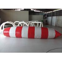 Great Fun Large Inflatable Water Toys , 0.9mm PVC Inflatable Water Blob Manufactures
