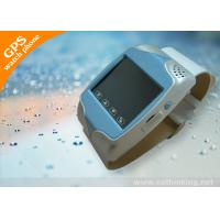 GSM Module Functions Mobile Phone Wrist Watch GPS Tracker With Switchover Electronic Clock Manufactures