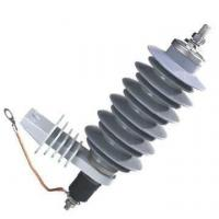 China 15kV Zinc Oxide Surge Arrester , Polymer Lightning Arrester For Protection on sale