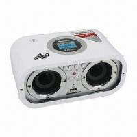 LCD Display SD/MMC and USB Card Reader Portable Speaker with FM Radio + Remote Control Manufactures