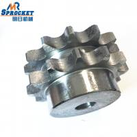 Double Teeth Chain Wheel Sprocket Forged Stainless Steel Sprocket For Chemical Metallurgy Manufactures