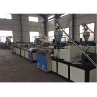 Plastic Board Extrusion WPC Board Production Line With Two Screw Manufactures