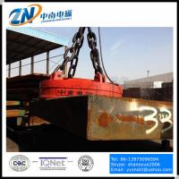 Circular Lifting Electromagnet for Steel Thick Plate Lifting MW03 Manufactures