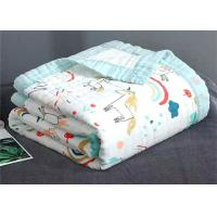 Buy cheap Baby Muslin Gauze Cotton Printed Fabric from wholesalers