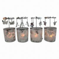 Rotary Candle Holders with Four Hangers, Includes Tea Light Manufactures