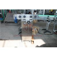 Beer Glass Bottled Plastic Water Production Line With Foil Sealing Induction Machine Manufactures