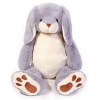 Personalized Plush Toys Grey Easter Bunnies Stuffed Animals with 100% PP cotton Manufactures