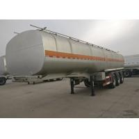 3 Axles 50000 Liters Semi Trailer Truck Fuel Tanker For Carrying / Storing Oil Manufactures