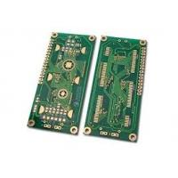 Green Solder Mask FR4 Rigid PCB Board 6 Layer , 1oz for industry control Manufactures