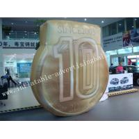 0.18mm Helium PVC and Oxford Custom Shaped Balloon / Inflatable Coin Balloon For Advertising Manufactures