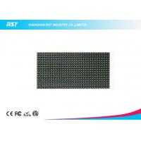 China P10 LED Display Module 320mm X 160mm / 32 X 16 Pixels Video Greenl Color Led Panel on sale