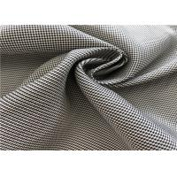 Jacquard Coated Waterproof Shape Fade Resistant Outdoor Fabric For Winter Coat Or Jacket Manufactures