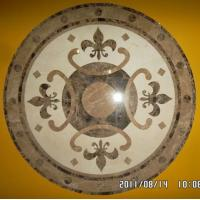 China Natural Stone Waterjet Flooring Medallions Design on sale