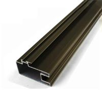 High Precise Reliable Aluminum Curtain Wall Profile In Different Surface