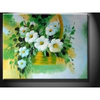 Green Home Wall Art Decorative Landscape Paint Handmade Oil Painting with Flower YXHHG1265 Manufactures