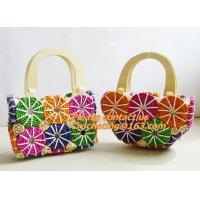 new fashion octopods tassel woven rattan casual beach bag trend bolsas femininas womeen Manufactures