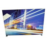 Image Display Frameless Fabric LED Light Box 9cm Width With Soft PVC Strentch Film Manufactures