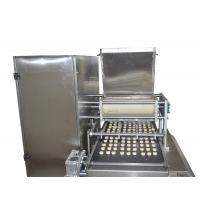 Quality stainless steel automatic small cookie making machine silver color for sale