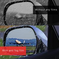 NEW MARKET UV protection anti rain anti oil anti water dust remover safety car ant fog mirror film Manufactures