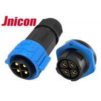 Buy cheap Jnicon 4Pin 20A Male Plug Female Socket Waterproof M25 Circular Power Connectors from wholesalers