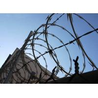 Stainless Steel Spiral Razor Wire Weatherproof Corrosion Resistance BTO-15 Manufactures